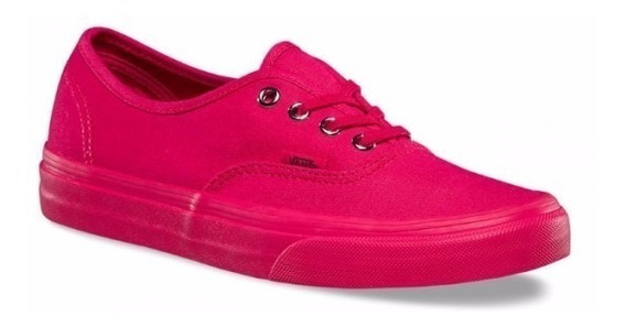 Tenis Vans Mujer Rosa Authentic Mono Vn0a38emmq0