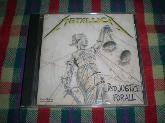 Metallica / ...and Justice For All Cd Ind Arg Cp3