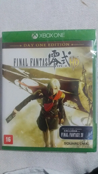 Final Fantasy Type 0 Hd Xbox One Lacrado