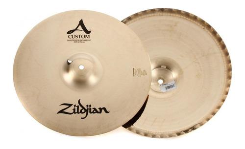 Platillo Hi Hat Zildjian A Custom Master Sound 14