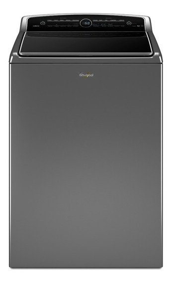 Lavadora Whirlpool 7mwtw8500ec 26kg Chrome Shadow