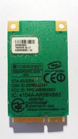 Placa Wireless Atheros 4104a-ar5bxb63 Frete Grátis