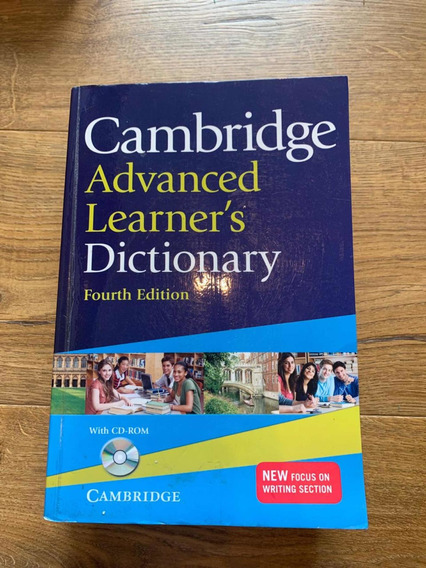 Dicionário Cambridge Advanced Learners