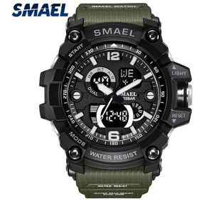 Relógio Masculino Smael Sw1617b Militar Esporte Adulto