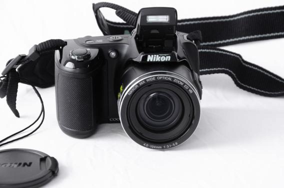 Câmera Nikon Coolpix L810 + Bolsa