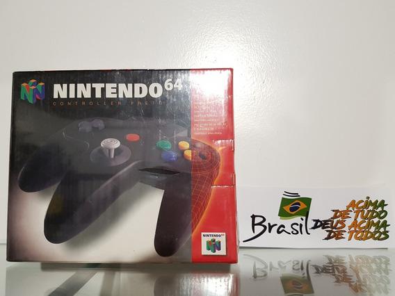 Controle De Nintendo 64 Original Nacional Novo Lacrado!