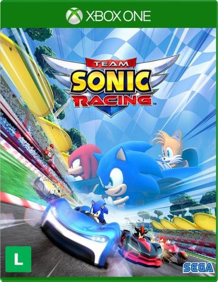 Team Sonic Racing Xbox One Midia Digital Envio Imediato