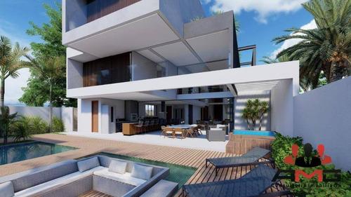 Imagem 1 de 6 de Casa Com 6 Dormitórios À Venda, 600 M² Por R$ 7.800.000,00 - Riviera - Módulo 17 - Bertioga/sp - Ca0840