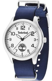 Reloj Timberland Hombre Nylon 3atm +envio Tbl.14652js/04