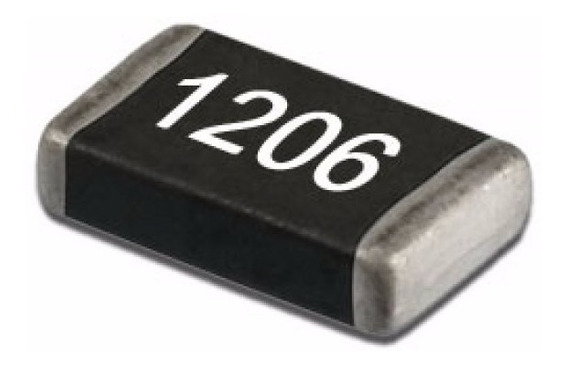 Resistor Smd 1206 Jumper 0r 100pçs