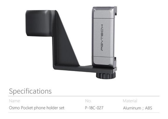Suporte Celular Dji Osmo Pocket Pgytech Holder Original