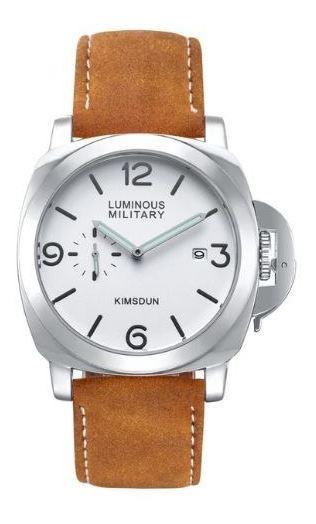 Relógio Luminous Militar Masculino Military 12 X Sem Juros