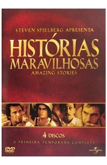 Dvd Amazing Stories Histórias Maravilhosas - Original - 1ª T