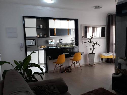 Imagem 1 de 29 de Apartamento Com 2 Dormitórios À Venda, 60 M² - Osvaldo Cruz - São Caetano Do Sul/sp - Ap1003