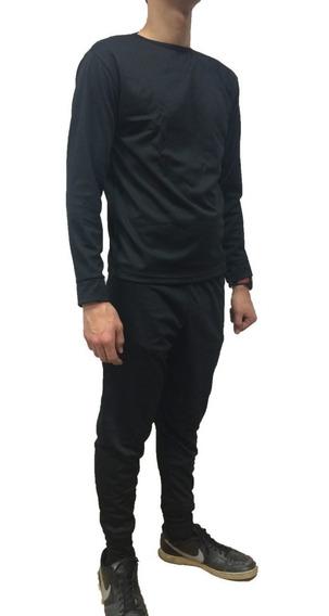 Conjunto Primera Piel Térmico Remera Y Pantalón