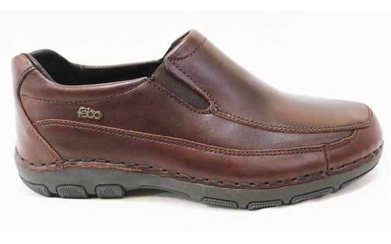 Zapato Cuero Hombre Con Elástico Art 851. Marca Febo