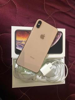 iPhone Xs Max De 64gb Dourado, Com 12 Meses De Uso