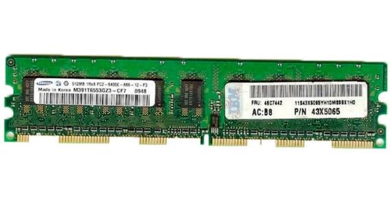 Memoria Ibm 512mb (1rx8) Pc2-5300e 667 Ecc Udimm 41y2725