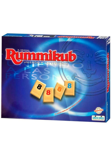 Rummikub Ruminó Original Juego Familiar Envío Gratis