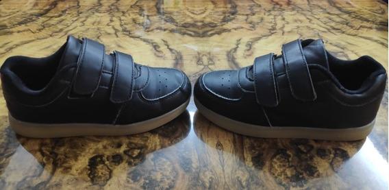 Zapatillas Negras Nº 29 (no Funcionan Las Luces) - R. Mejia.