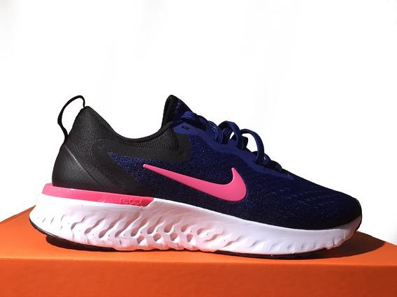 Tênis Feminino Nike Odyssey React Azul E Preto Original