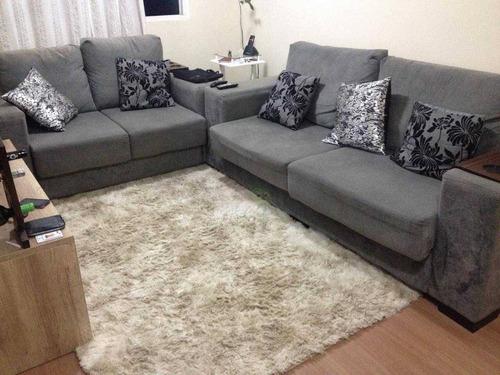 Apartamento Com 2 Dormitórios À Venda, 62 M² Por R$ 192.000,00 - Jardim Santo André - Santo André/sp - Ap1339