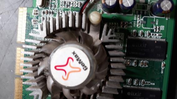Placa De Video Gemax Fx5500 256bits W Vga Tv Out Dvi