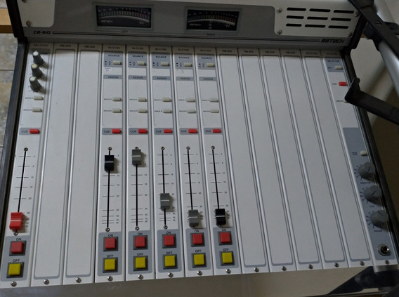 Console Mesa Radio Broadcast Bbtech Bb Tech