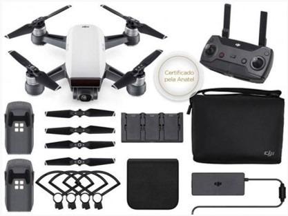 Drone Dji Spark Combo Fly More Com Ativação