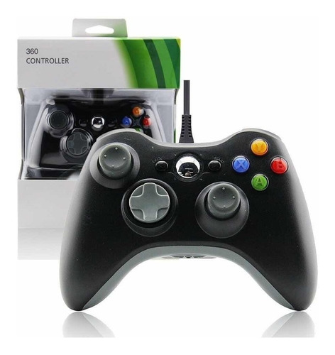 Joystick Control Xbox 360 C/cable Envio Gratis Montevideo