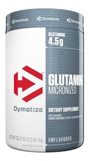 Glutamina Dymatize 1 Kg En Polvo Sin Sabor 222 Servicios