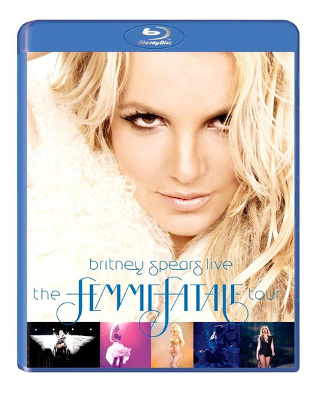 Britney Spears - Femme Fatale Bluray Nuevo Sellado Multizona
