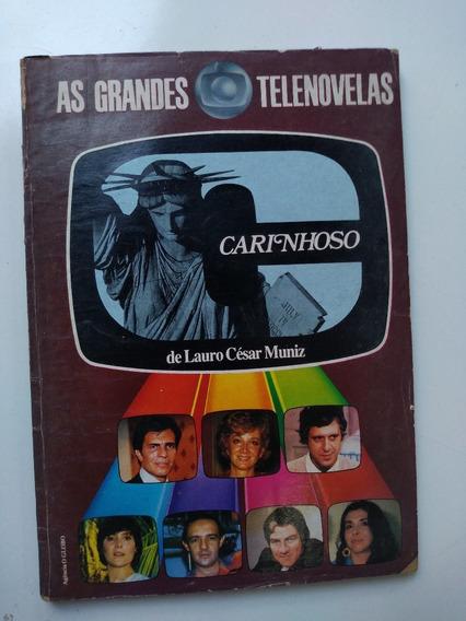 Livro - Carinhoso - As Grandes Telenovelas - De Lauro César