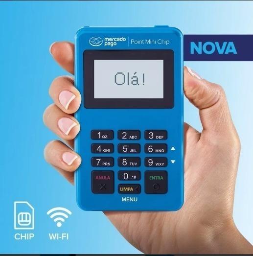 Point Mini Chip - Á Maquininha De Cartão Do Mercado Pago