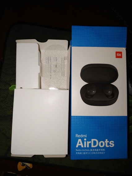 Fone De Ouvido Xiaomi Redmi Airdots Original Com Bluetooth