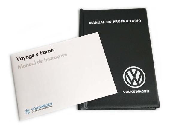 Manual Do Proprietario Vw Voyage Parati 87 1987 + Capa