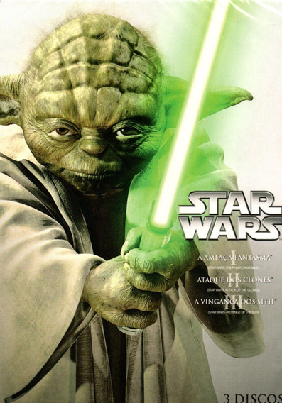 Dvd Star Wars - A Ameaça Fantasma - Ataque Dos Clones - A Av