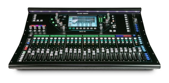 Mesa De Som Mixer Digital Allen & Heath Sq-6 48 Canais