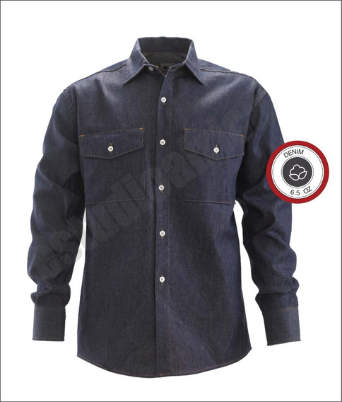 Camisa De Jean Bufalo, Reforzado Fabrica Pampero Factura A B