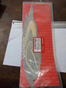 Adesivo Tanque Titan 2001 Verde Lado Direito Original Honda