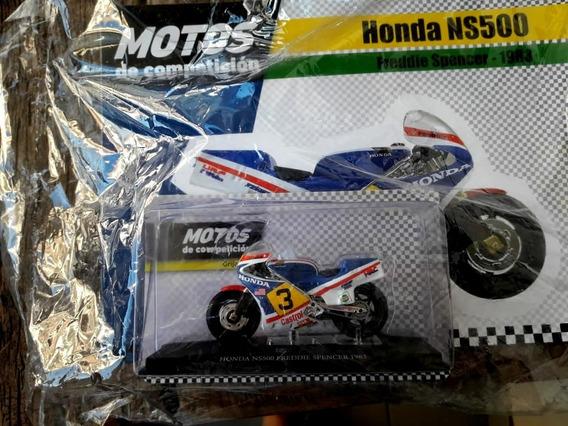 Colección Motos De Competición N° 6 Honda Ns500