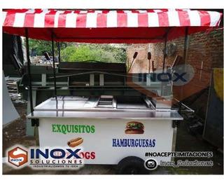 Vendo Ó Alquilo Carretilla Comida Rápida Hot Dog Hamburguesa