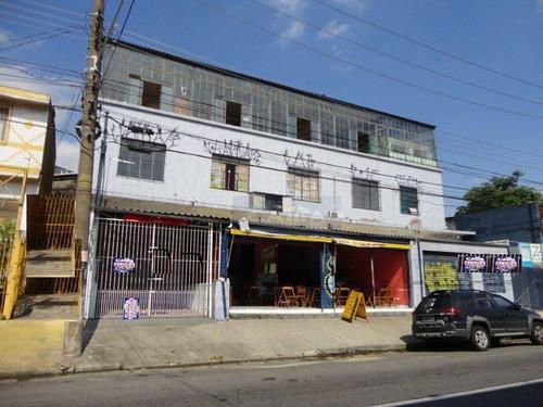 Salão Comercial Para Locação, Vila Santana, São Paulo - Sl0277. - Sl0277