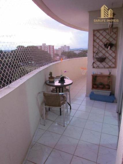 Apartamento Com 2 Dormitórios À Venda, 62 M² Por R$ 290.000,00 - Jardim Das Indústrias - São José Dos Campos/sp - Ap0990