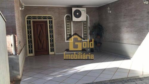 Casa Com 3 Dormitórios Para Alugar, 157 M² Por R$ 4.500/mês - Alto Da Boa Vista - Ribeirão Preto/sp - Ca0919
