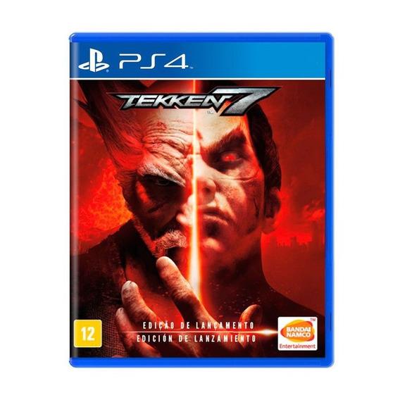 Tekken 7 Ps4 - Mídia Física