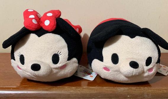 Casal Minnie E Mickey Tsum Tsum Originais Disney Store