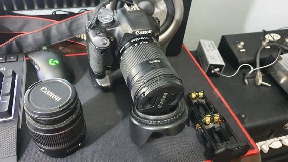 Lente 18 135 Canon Maquina T1i