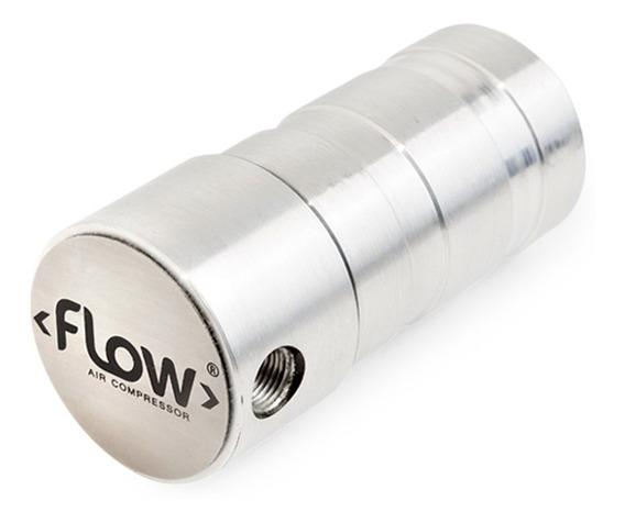 Filtro Flow Suspensão A Ar 1/8 8mm/10mm Prata Gol Quadrado