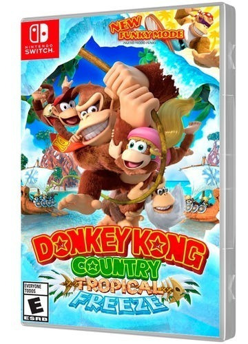 Jogo Donkey Kong Country Tropical Freeze Nintendo Switch